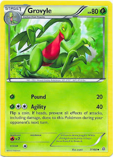 Grovyle Primal Clash Pokemon Card