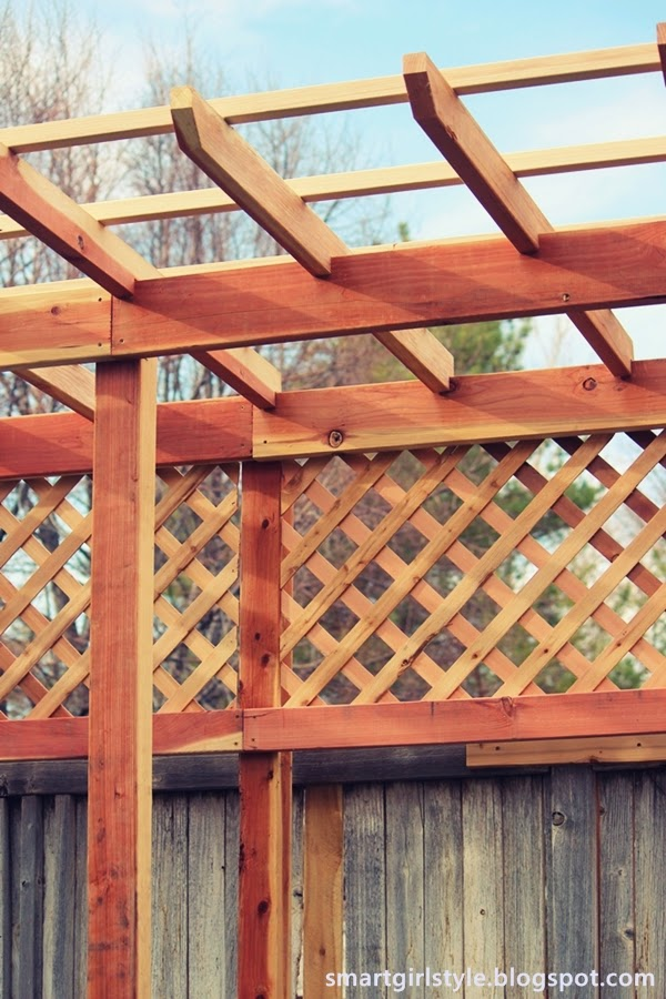 Smartgirlstyle How To Build A Grape Arbor