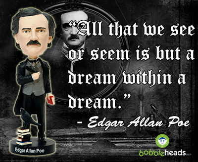 Edgar Allan Poe Bobblehead Dream