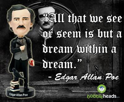 Edgar Allan Poe Bobblehead Dream