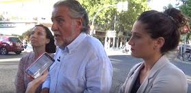 Pepu Hernández visita Tetuán y habla de los locales de apuestas