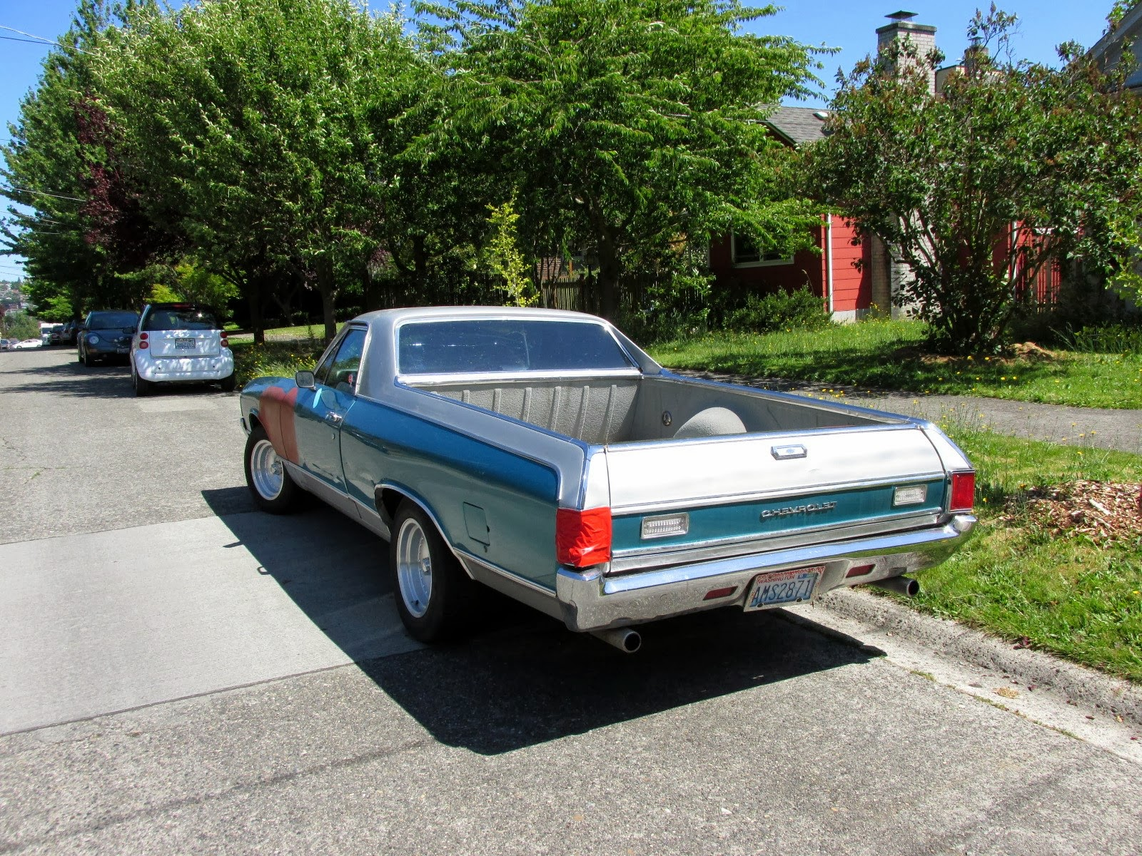 Warsaw In Chevrolet >> Seattle's Classics: 1972 Chevrolet El Camino