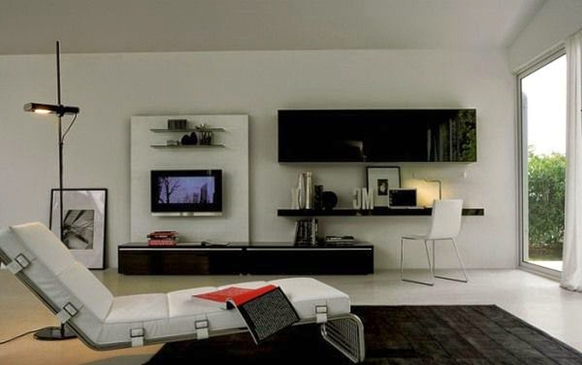 Идеи телевизор в интерьере 47