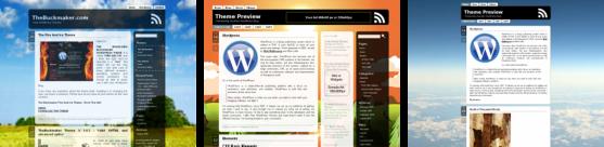 Free WordPress Themes Aeros, Aerodrome, Aer by TheBuckmaker.com