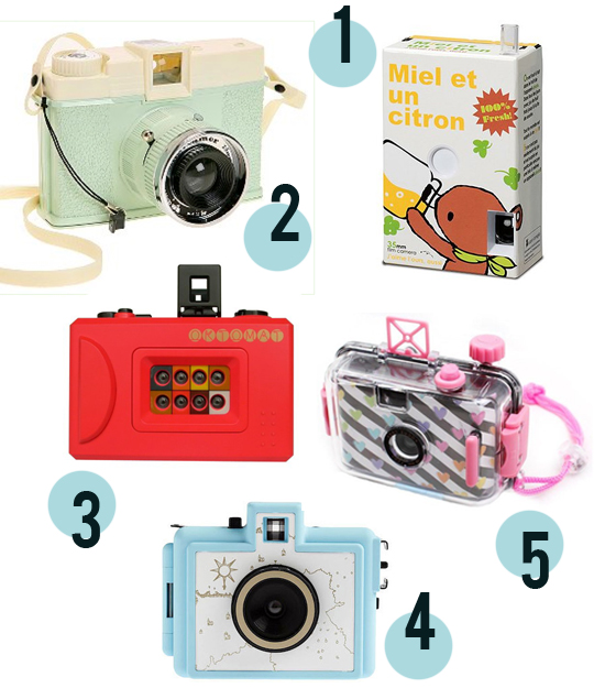 lomo toy cameras summer set