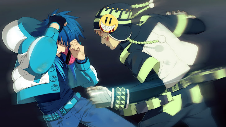Aoba and Noiz Fighting
