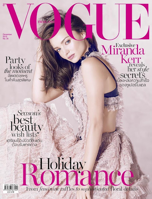 Fashion Model, @ Miranda Kerr - Vogue magazine,Thailand, December 2015