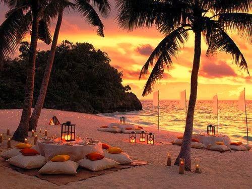 Muitas vezes Noiva com Classe: Casamento na praia: ideias de decoração DC82