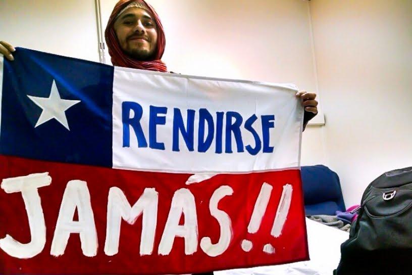 !ABAJO LA FUERZA ARMADAS COLONIALISTA GENOCIDAS CHILENA¡