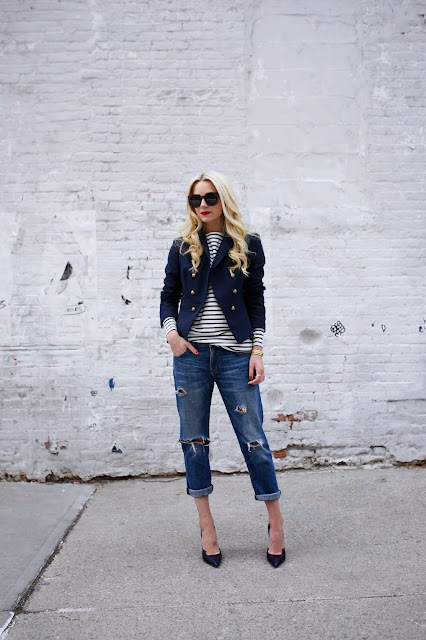 ripped jeans street style 2015 atlantic pacific