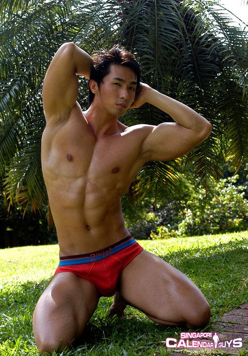 Singapore hot model
