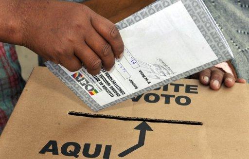 Elecciones en Bolivia 2014
