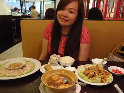 Lunch with Wany @ Soup Restaurant Nex