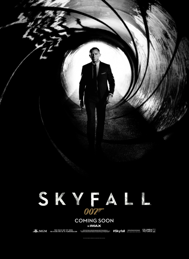 skyfall teaser poster so skyfall s official teaser poster it