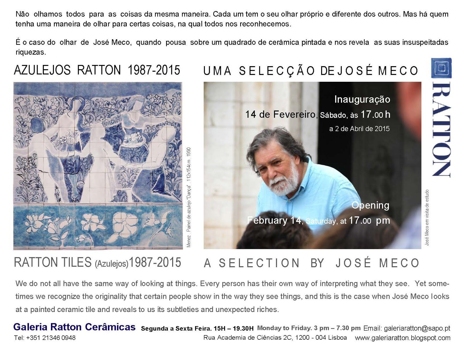 Azulejos Ratton . José Meco