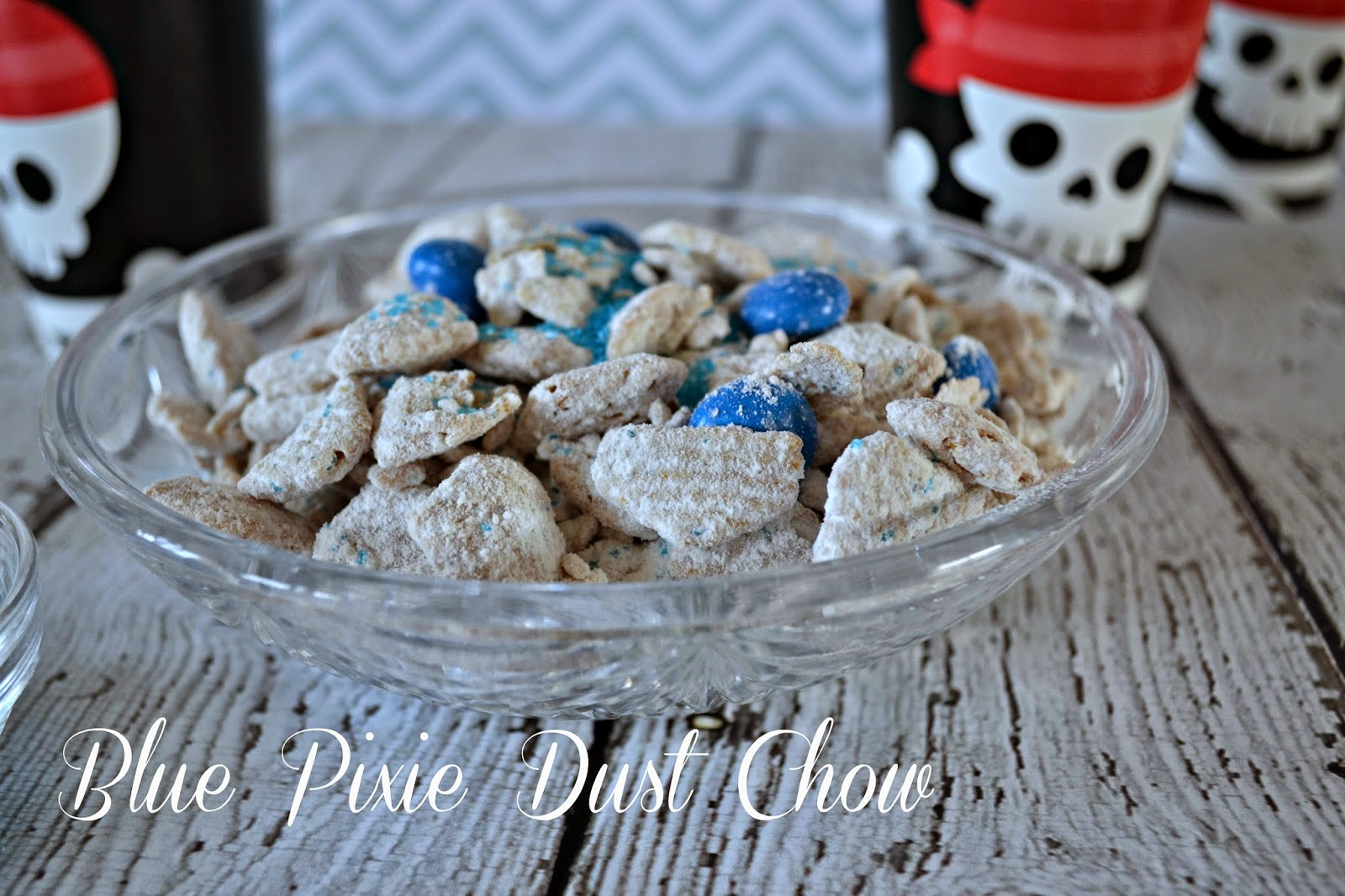 The Pirate Fairy DVD Release - Blue Pixie Dust Chow #Recipe - #ProtectPixieHollow #shop
