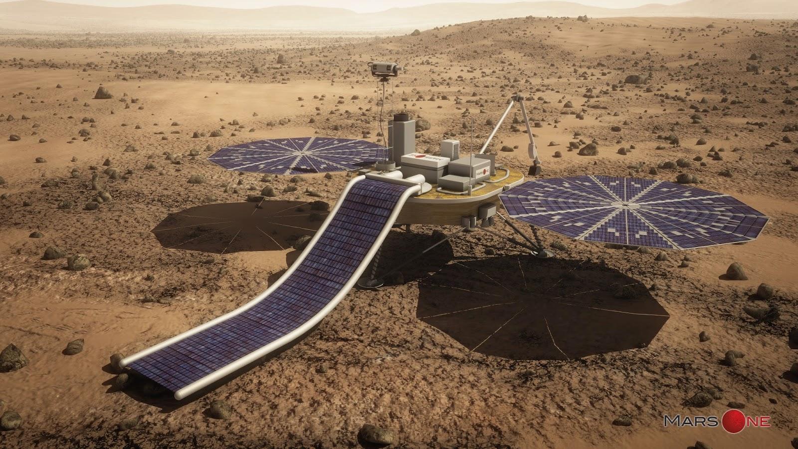 Будущее колонизаторов Марса (3 фото)