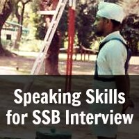 Speaking Skills for SSB Interview