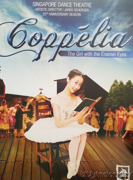 Coppelia's cautious celebration