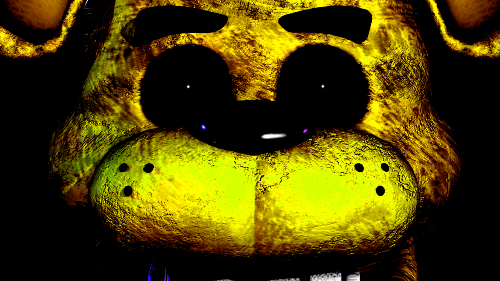 Fnaf 1 Golden Freddy