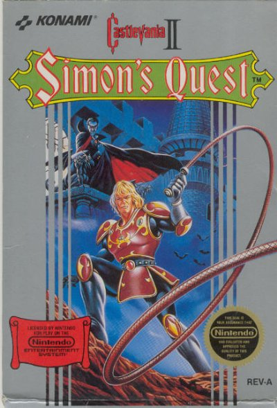 cacho u0026 39 s game shrine  castlevania 2  simon u0026 39 s quest