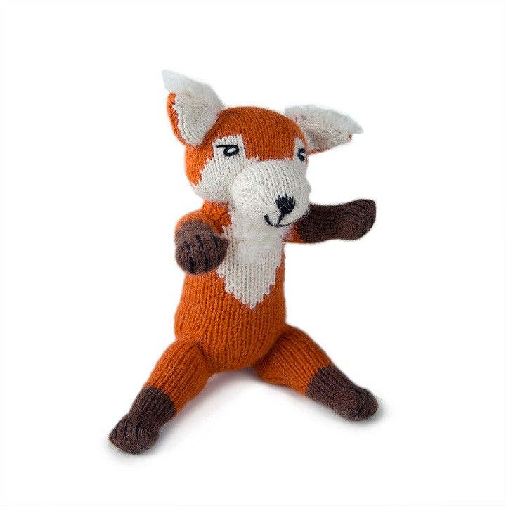 knitted fox / Oeuf