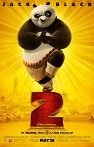 Cartel de Kung Fu Panda 2