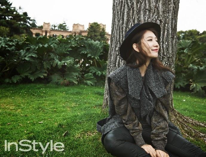 Park Shin Hye - InStyle Magazine November Issue 2014