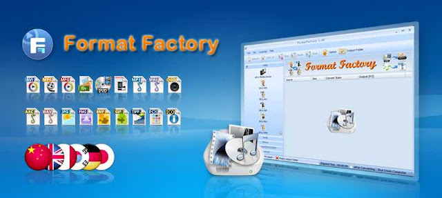 Format Factory Free Audio/Video/Photo Converter