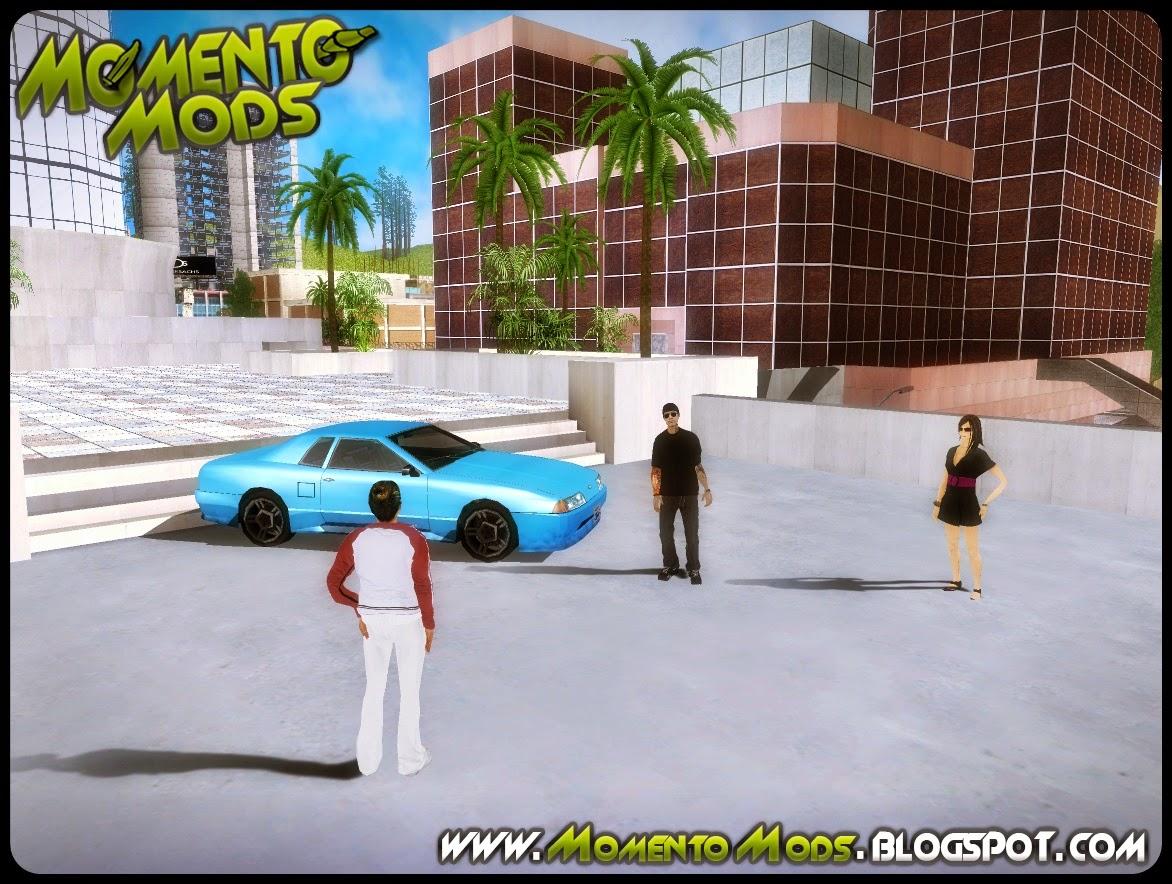 GTA SA - Encontro De Racha