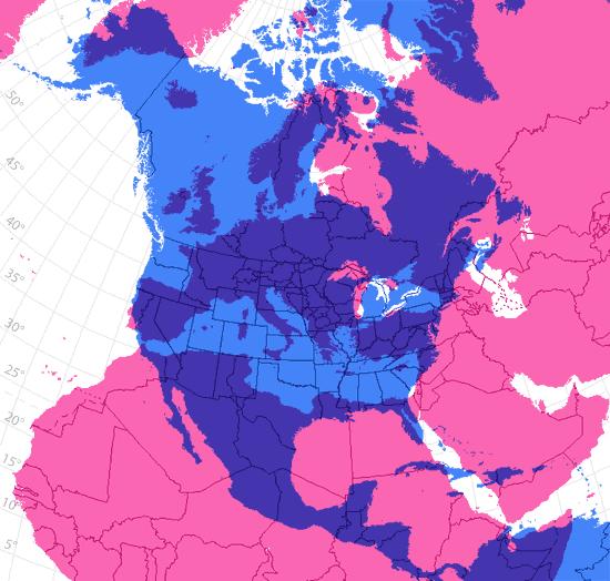 Europa y EEUU superpuestas