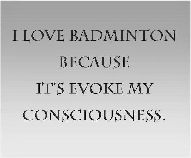 Badminton Quote , Badminton Words , Badminton