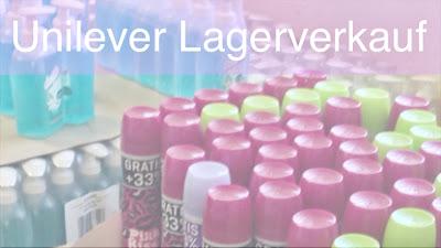 Unilever Lagerverkauf in Hamburg