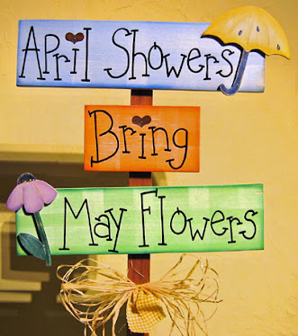 Clipart Spring Showers