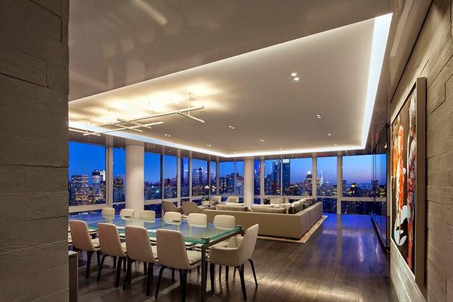 Piso minimalista en nueva york minimal penthouse in new york minimalistas 2015 - Pisos en new york ...