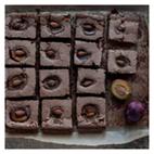 migdałowe brownie