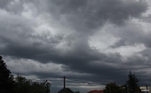 Tempête à Lyon : ciel de matin