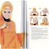 Gambar Cara Memakai Jilbab Modern Berlapis-lapis