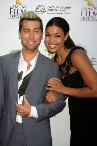 Jordin Sparks and Lance Bass  go to the Prom