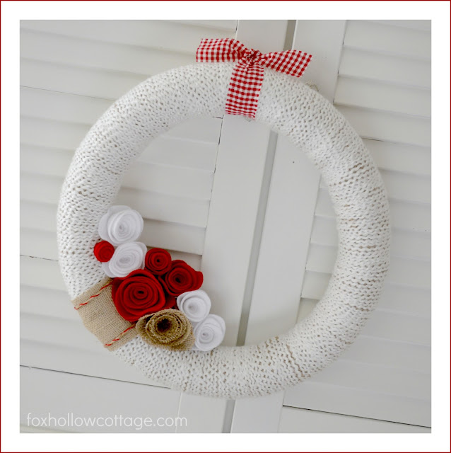 Valentines Roundup - Wreath DIY