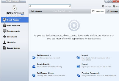 Giveaway-Sticky Password full cracked