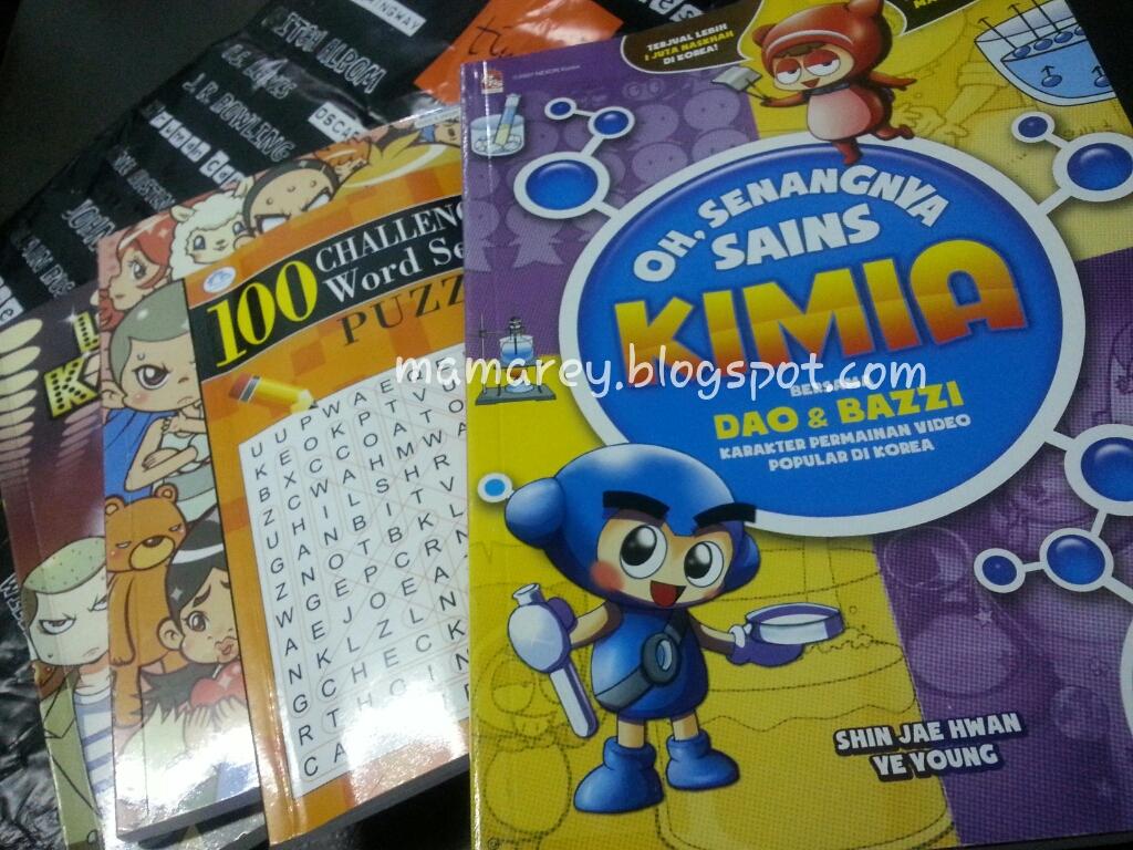 buku cerita, buku bacaan anak-anak, kedai buku TIMES dI 1Borneo