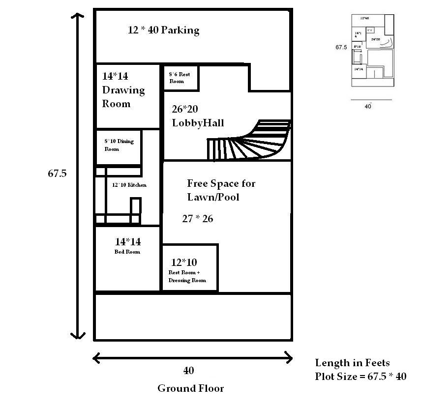 Infinite Thoughts Map For House For 300 Sq Yards