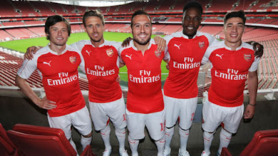Jersey Arsenal Home 2015-2016