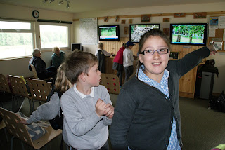 St Ronan's Primary School Osprey Watch visit