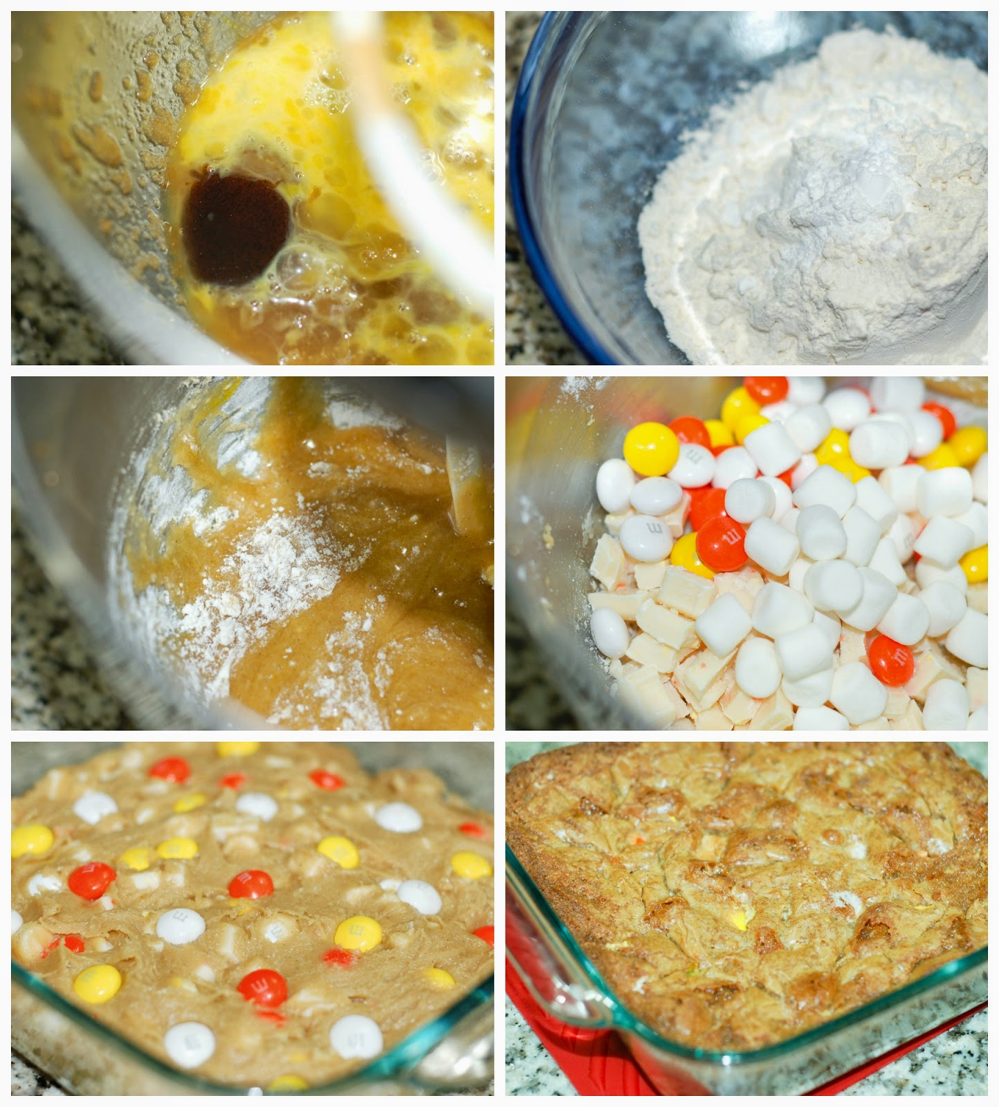 Making Candy Corn Creme by The Sweet Chick