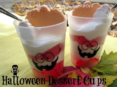 Halloween Dessert Cups