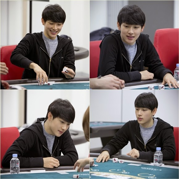 ZE:A's Siwan learns how to play casino games