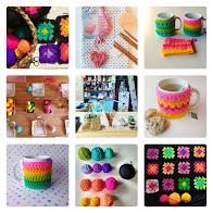 Taller de crochet para principiantes: Tazas abrigadas o grannys square ♥