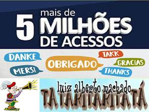 MAIS DE 5 MILHÕES DE ACESSOS!!!!